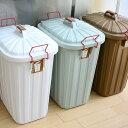 PALE×PAIL ゴミ箱 60L おしゃれ 日本製 3年保証 キッチン 北欧 分別 大容量 ふた付き フタ付き ベランダ 屋外 ダスト…