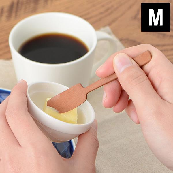ヘラ WOOD'N プチスパチュラM Laluz ラルース 木製 キッチン ジャムスプーン 調味料 メイク カトラリー 北欧