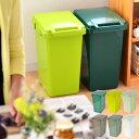 ゴミ箱 ecoコンテナスタイル 45L おしゃれ 分別 45リットル ふた付き 分別スリム 屋外 キッチン ごみ箱 フタ付き ダス…
