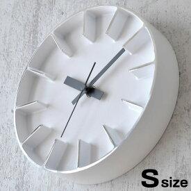 掛け時計 おしゃれ 雑貨 北欧 Lemnos レムノス Edge Clock エッジクロック Sサイズ AZ-0116 【クロックフック付】置き時計 壁掛け 壁掛け時計 時計 インテリア デザイン アルミニウム おしゃれ モダン シンプル AZUMI