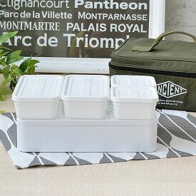 お弁当箱 ANCIENT アウトドアセット カーキ 2段 ファミリー 弁当箱 大容量 お重 重箱 運動会 ピクニック アウトドア 保冷バッグ 保冷材 ランチボックス シンプル かっこいい ミリタリー