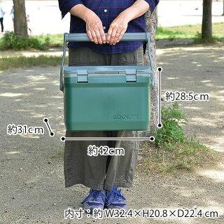 スタンレークーラーボックスCOOLERBOX15.1L保冷大容量大型ハードクーラーアウトドアキャンプ運動会レジャー保冷力かっこいいおしゃれSTANLEY
