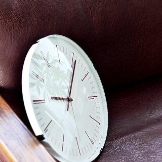 タカタレムノスlemnos掛け時計電波時計ドローウォールクロックDrawwallclockKK18-12電波時計壁掛けおしゃれ北欧SKPムーブメントブラックレッドシンプル大きい連続秒針レムノス日本製プレゼント新築祝い