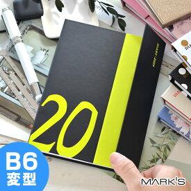 手帳 2020年 マグネット20 B6 変型 MARK'S マークス 12月始まり 月曜始まり ウィークリー レフト 大人かわいい おしゃれ オシャレ かわいい カワイイ スケジュール帳 ママダイアリー ママ手帳 ドット柄 水玉 花柄 20WDR-CH06