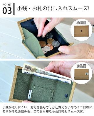 コルリベーシックcoruribasic財布ミニ三つ折りミニ財布ヘミングスレディースメンズ小銭入れカード極小ポケットミニウォレット手のひらサイズコンパクト折りたたみボックス型コインケースアウトドアキッズHEMING'S