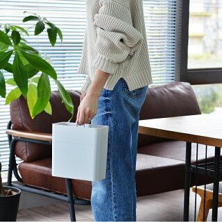 メイクボックスコスメケース持ち運びができるメイクボックスCosmeticCaddylike-itライクイット収納持ち運び軽量スリムコンパクト化粧品仕切りシンプル鏡付きおすすめ日本製ホワイトグレーコスメボックス人気北欧