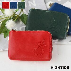 小銭入れ パスケース ムーミン ハイタイド HIGHTIDE コインケース カードケース 財布 ウォレット レディース 薄型 シンプル おしゃれ かわいい コンパクト 定期入れ 大人 ミニ財布 キーケース