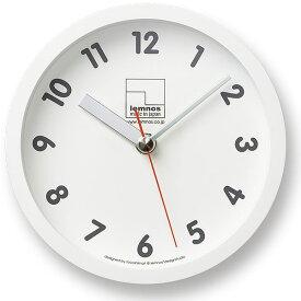 掛け時計 【Lemnos レムノス】kitchen clock キッチンクロック T1-025 掛け時計 壁掛け スタンド付 置き時計 置時計 壁掛け時計 掛時計 時計 おしゃれ かわいい 人気 デザイン インテリア 北欧 雑貨