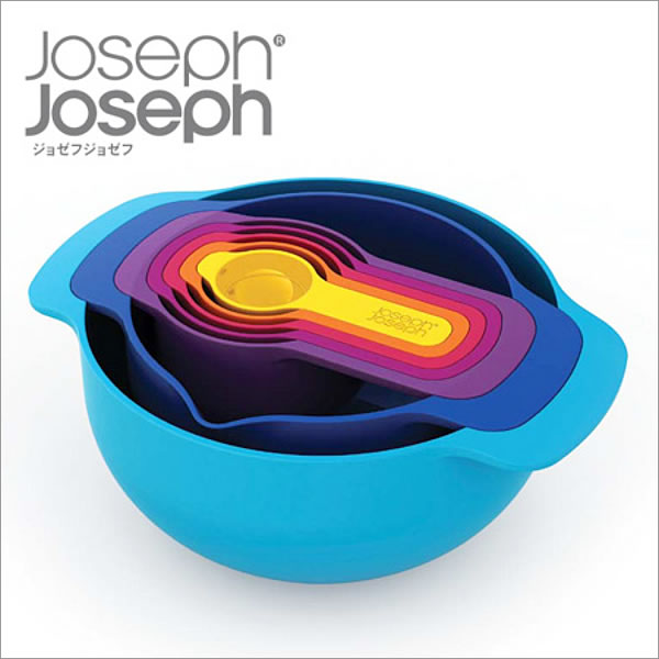 ボウル Joseph Joseph ジョゼフジョゼフ NEST7 Plus ネスト キッチン ボール 計量 カップ スプーン 調理 料理