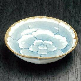 【1個】有田焼文山窯菓子鉢1個 径21cm 約800ml 花 染付 盛鉢 お菓子 和菓子 和食 煮物鉢 おもてなし 手描き いっちん