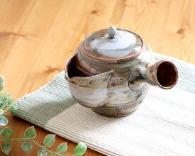 【1個】常滑焼玉光作広口急須 日本製 常滑焼 伝統工芸士 550ml 湯呑2〜3杯分 緑茶 陶製茶こし 茶こし一体型 お茶が注ぎやすい 梅原廣隆 実用的 50代 60代 70代 早割 母の日 プレゼント ギフト 贈り物