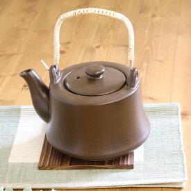 【1個】万古焼耐熱煎治土瓶1個 土瓶 耐熱 万古焼 お茶 素材 直火 耐熱 日本製 国産 煎治 漢方 どくだみ