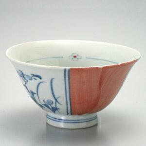 【1個】有田焼ヘルシーライン付お茶碗わり花1個 飯碗 お茶碗 日本製 有田焼 セット 陶器 磁器 キッチン おもてなし 食器