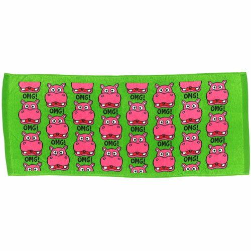 フェイスタオル OMG HIPPO カバ★