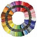 【おまけ付き】 100本100色 カラー豊富で きれい! 刺繍糸 セット (宅急便 送料無料) (赤 ピンク 橙 緑 青 紫 白 黄色…
