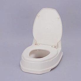 アロン化成簡易設置型洋式トイレ両用式(段差があるトイレ用)アイボリーサニタリー両用式