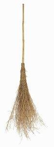 竹箒 (新3段) 竹ぼうき 竹ほうき 10本セット