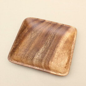 WOOD TRAY SQUARE トレイ 木製 トレー プレート 皿 小皿