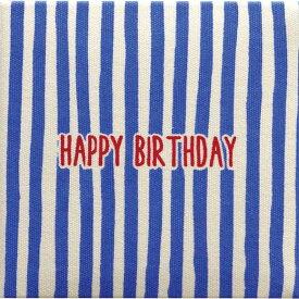 メッセージブック メッセージカード 誕生日 お祝い ブルーミニ メッセージブック HAPPY BIRTHDAY BLUE