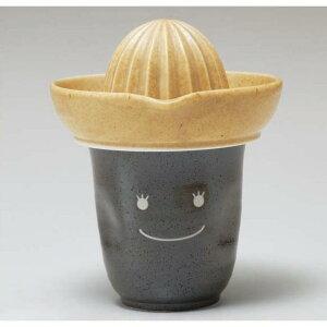 焼酎グラス 陶器 タンブラー 搾り器 絞り器 焼酎カップグレープフルーツ 鉄柚ガール