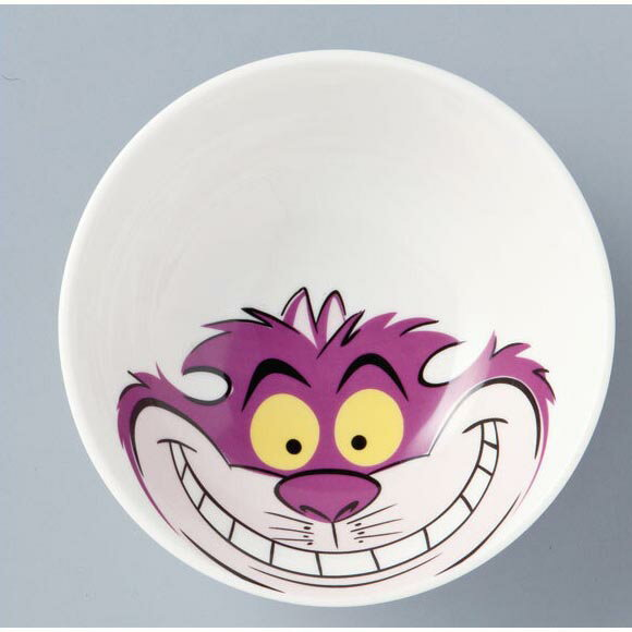 茶碗 ディズニー 食器 不思議の国のアリス チシャ猫 ご飯茶碗 ボウル ディズニー茶碗 チェシャ猫 送料込