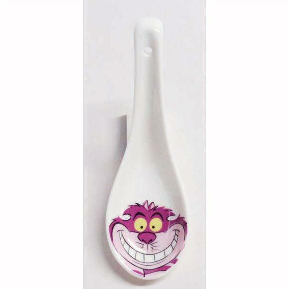ディズニー 食器 不思議の国のアリス チシャ猫 れんげ 陶器 キャラクターレンゲ チェシャ猫
