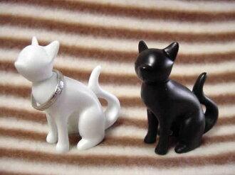 Fashion gadgets sitting cat ring holder