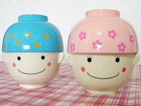 子供 茶碗 食器 ごはん茶碗 ご飯茶碗 飯碗 汁椀 お椀 「まんぷくセット」