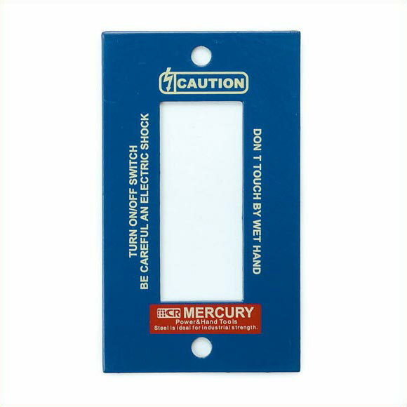 MERCURY スイッチプレート 3ヶ口 ネイビー マーキュリー スイッチカバー コンセントカバー スイッチプレート カラー アンティーク