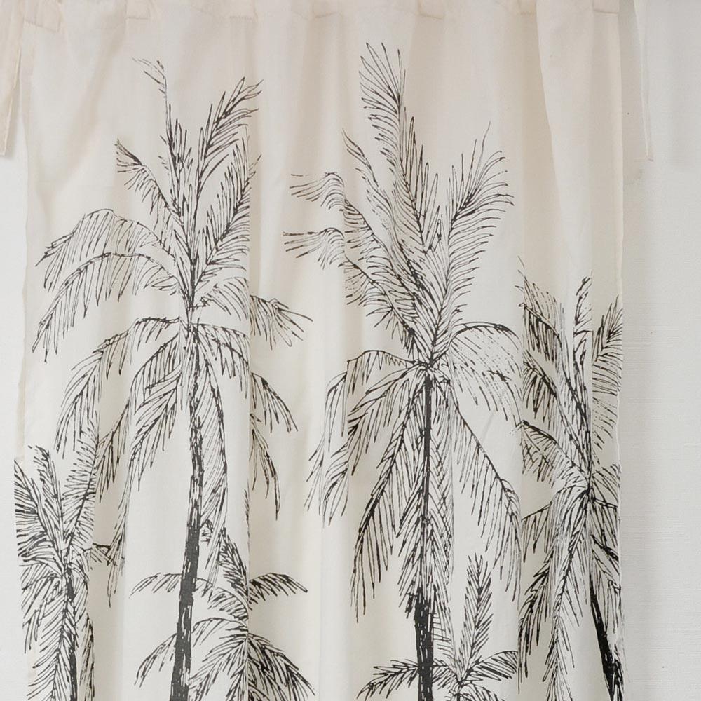 LANDSCAPE カーテン カリフォルニア カーテン おしゃれ のれん 暖簾 目隠し 間仕切り 白