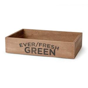 ウッドハーベストボックス スタッカブル エバーフレッシュ M 木箱 アンティーク 収納ボックス ウッドボックス 収納ケース おしゃれ アメリカ 雑貨 アメリカン雑貨
