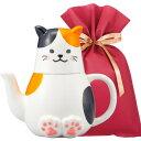 【送料無料】三毛猫ティーフォーワン ギフトセット【L】 おもしろ プレゼント 女性 雑貨 男性 ギフトセット ラッピン…