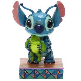 Stitch with Frog リロ&スティッチ ディズニー フィギュア 置物 人形 フィギア オブジェ