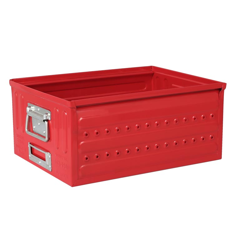 D.M.S ''GARAGE'' 16L RED ダルトン DULTON 収納 箱 ボックス バスケット 収納箱 ケース 工具 書類