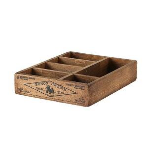 WOODEN ORGANIZER BOX NATURAL ダルトン DULTON 木箱 アンティーク 小物入れ ウッドボックス 小物 収納ボックス コレクションケース アクセサリーケース