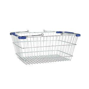 MARKET BASKET (S) CHR/BLU ダルトン DULTON 収納 バスケット かご おしゃれ 小物入れ 洗濯かご 買い物かご ショッピングカート