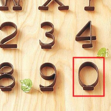 スチールレターブラウン0ナンバーオブジェ数字オブジェ0置物切り文字看板ディスプレイ飾り文字アンティーク