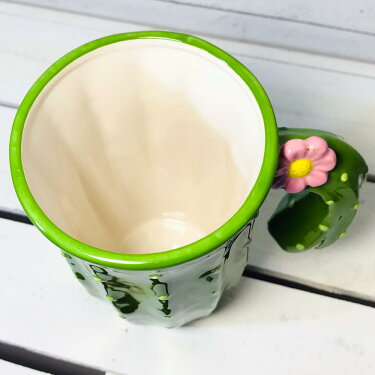 サボテンマグマグカップ大きいおしゃれかわいいサボテンオブジェ