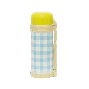 マミーフィールド ファミリーボトル ギンガムチェック 水筒 1.5リットル コップ付き ステンレス おしゃれ