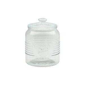 オールドスタイル 2L クッキージャー 保存容器 ガラス 調味料入れ 米びつ 保存容器 密閉 ガラス容器 ガラス 瓶 ガラスボトル