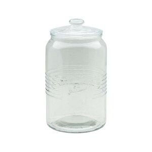 オールドスタイル 3L クッキージャー 保存容器 ガラス 調味料入れ 米びつ 保存容器 密閉 ガラス容器 ガラス 瓶 ガラスボトル