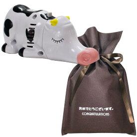 【送料無料】【おめでとうございますギフト】 テーブルクリーナー ウシ【L】 おもしろ プレゼント 女性 男性 雑貨 ユニーク 誕生日プレゼント お祝い ギフト