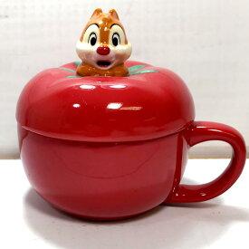トマトスープカップ(デール) チップ&デール スープカップ スープボウル マグカップ おしゃれ ふた付き