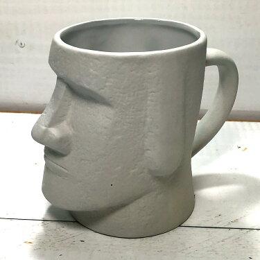 モアイマグおもしろプレゼントユニーク雑貨おもしろ雑貨マグカップ