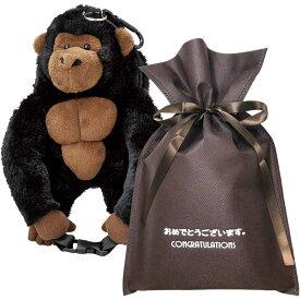 【送料無料】【おめでとうございますギフト】 パスポーチ(ゴリラ)【L】 おもしろ プレゼント パスケース かわいい 雑貨 ユニーク 男性 おもしろグッズ 誕生日プレゼント 女性 ギフトセット