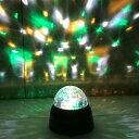 【送料込】【あす楽】ミラーボール 照明 ライトトゥインクルボール ブラック ディスコ ライト パーティーライト 回転 イルミネーション ライト 結婚式 バー