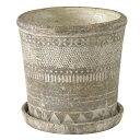 (2)オリンポス プランター Lサイズ 植木鉢 テラコッタ 鉢 おしゃれ アンティーク
