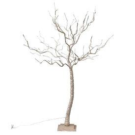クリスマス LEDブランチツリー ゴールド Lサイズ クリスマスツリー led ライト おしゃれ 120cm usb アンティーク