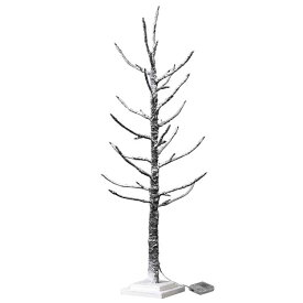 クリスマス LEDブランチツリー スリム ブラウン Lサイズ クリスマスツリー led ライト おしゃれ 90cm usb アンティーク