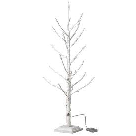 クリスマス LEDブランチツリー スリム ホワイト Lサイズ クリスマスツリー ホワイト led ライト おしゃれ 90cm usb アンティーク